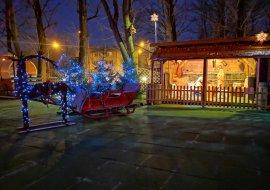 Szopka i świąteczne dekoracje już gotowe!